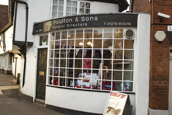 D C Poulton & Sons Funeral Directors in Stansted