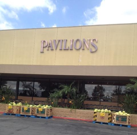 Pavilions store front picture at 1213 S Fair Oaks Ave in South Pasadena CA