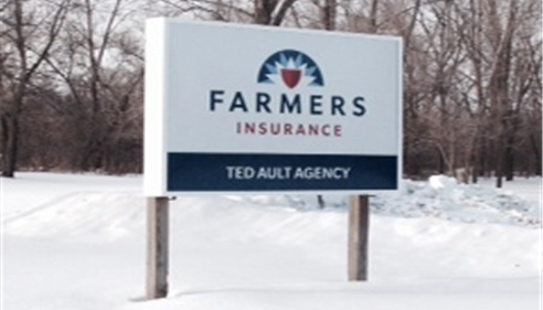 Ted Ault Agency Sign