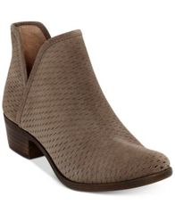 Image of Lucky Brand Baley Perforated Chop Out Booties