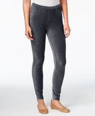 Image of Style & Co Petite Corduroy Leggings, Created for Macy's