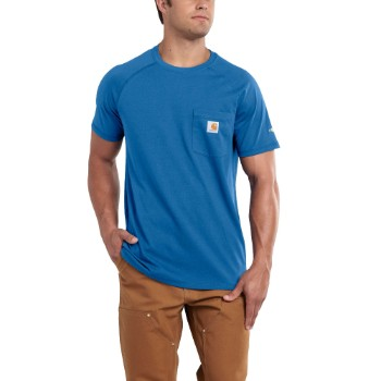 Image of CARHARTT FORCE® COTTON DELMONT SHORT-SLEEVE T-SHIRT
