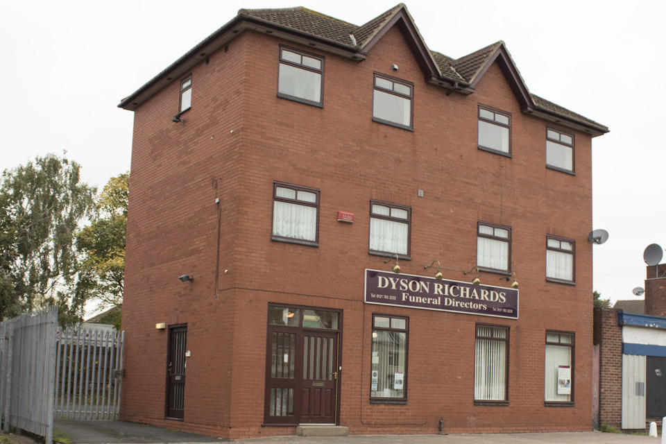 Dyson Richards Funeral Directors in Stechford, Birmingham