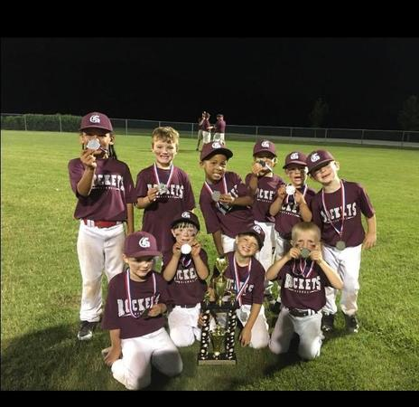 We sponsored a local team and they brought home the trophy!!  Congrats to Gardendale 5  Allstars!!
