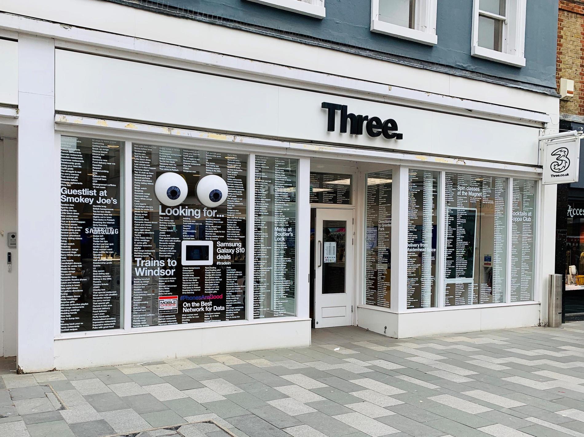 Three Maidenhead High Street Mobile Phones Sim And Mobile