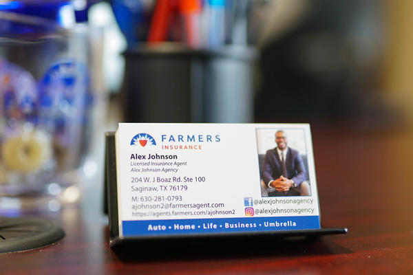 Farmers business cards