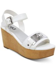 Image of G by GUESS Danna Platform Wedge Sandals