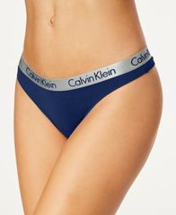 Image of Calvin Klein Radiant Cotton Thong QD3539
