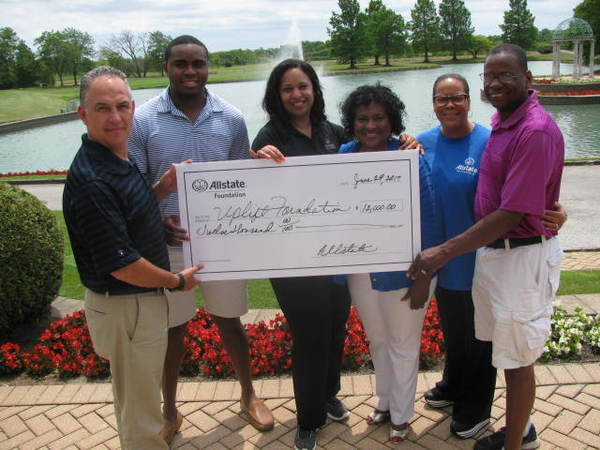 Leslie Woods - Allstate Foundation Helping Hands Grant Helps the Uplift Foundation