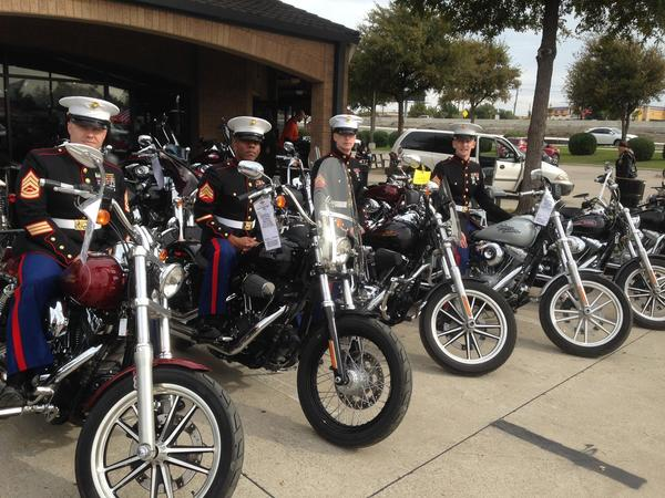 Brad Williamson - Toys for Tots - DFW Motorcycle Ride