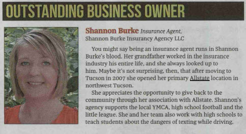 Shannon Burke - Recognized for 2018 Women of Influence Award