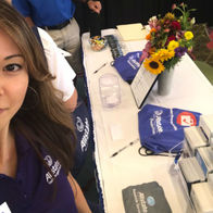 Deanne-August-Allstate-Insurance-Honolulu-HI-table-emergency-kits-red-cross-hawaii-hurricane-preparedness-week-auto-home-life-auto-agency-agent-customer-service