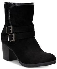 Image of Style & Co Gigii Foldover Ankle Booties, Created for Macy's