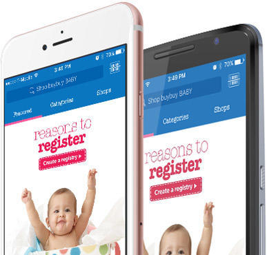 buybuy BABY mobile app on the App Store and Google Play