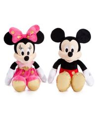 "Image of Disney Mickey or Minnie Mouse 16"" Plush"