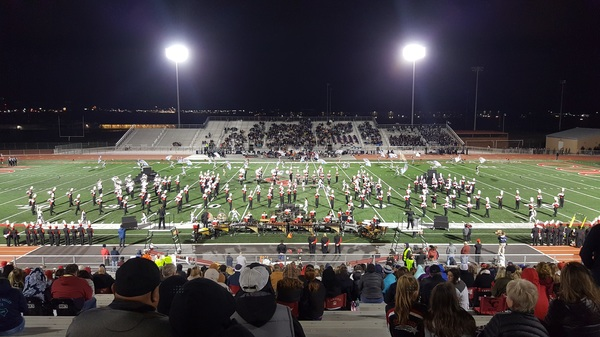 2017 Canyon High School Marching Band