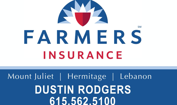 Logo for Farmers Insurance Dustin Rodgers agency