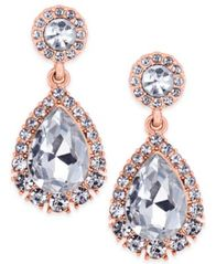 Image of Charter Club Crystal Drop Earrings, Created for Macy's