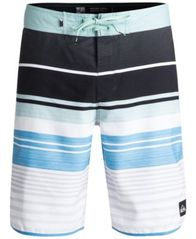 "Image of Quiksilver Men's Eye Scallop Stripe 20"" Boardshorts"