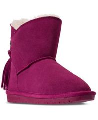 Image of BEARPAW Little Girls' Mia Boots from Finish Line