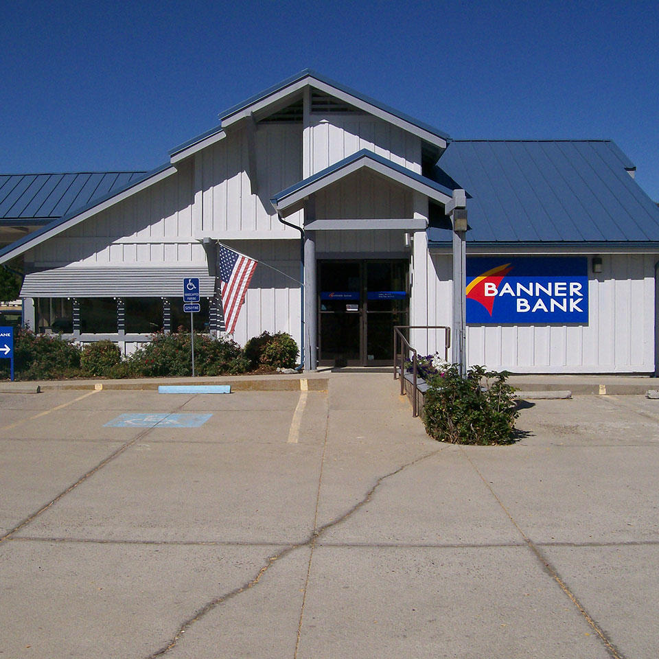 Banner Bank branch in Greenview, California