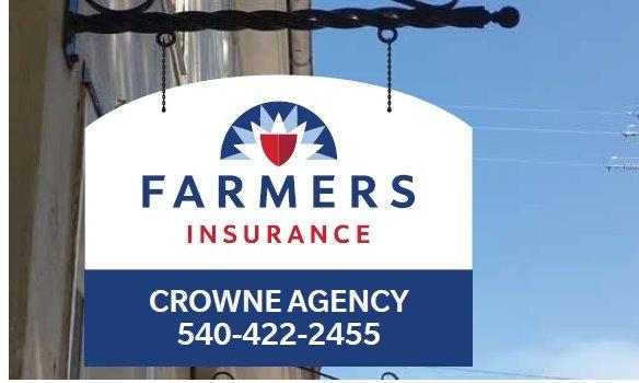 Sign for the Crowne Agency