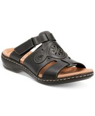 Image of Clarks Collection Women's Leisa Higley Flat Sandals