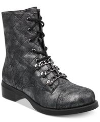Image of G by GUESS Meera Combat Booties