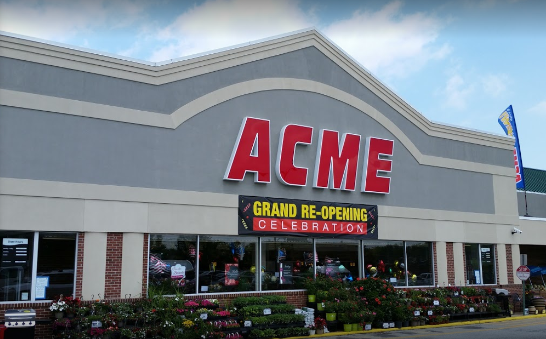 Acme Markets store front picture at 1812 Marsh Rd in Wilmington DE