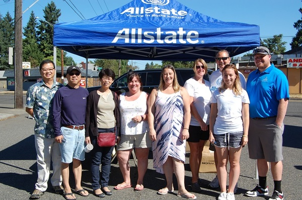 Casey Huber - Allstate Foundation Helping Hands Grant for Dream