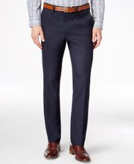 Image of Kenneth Cole Reaction Men's Slim-Fit Stretch Dress Pants, Created for Macy's