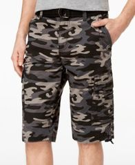 Image of Ring of Fire Men's Delano Messenger Cargo Shorts, Created for Macy's