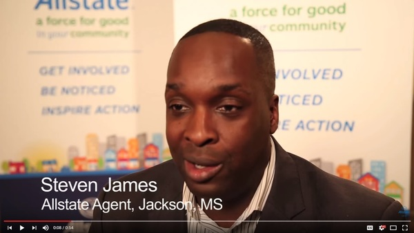 Steven James - Steven James - Community Involvement | Allstate Foundation Video