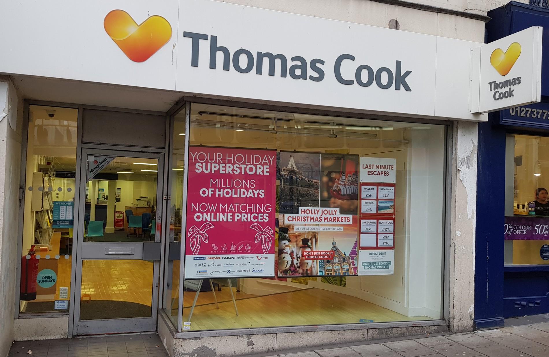 Thomas cook brighton travel store thomas cook