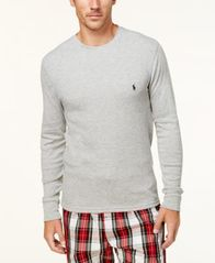 Image of Polo Ralph Lauren Men's Ultra Soft Waffle-Knit Thermal Shirt