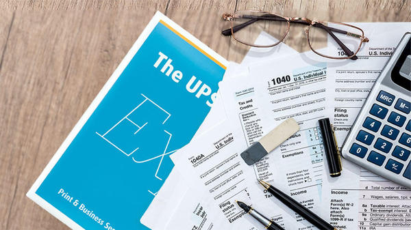 tax forms due on July 15, 2020 printed and mailed from The UPS Store