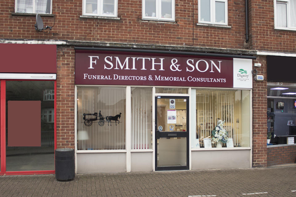F Smith & Son Funeral Directors in Kingston Road, Staines