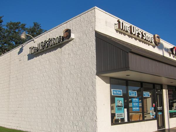 Exterior storefront image of The UPS Store #2346 in Kent, OH