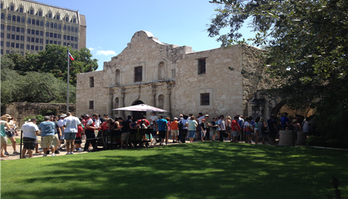 Last week in San Antonio for Championship. Little visit to the Alamo