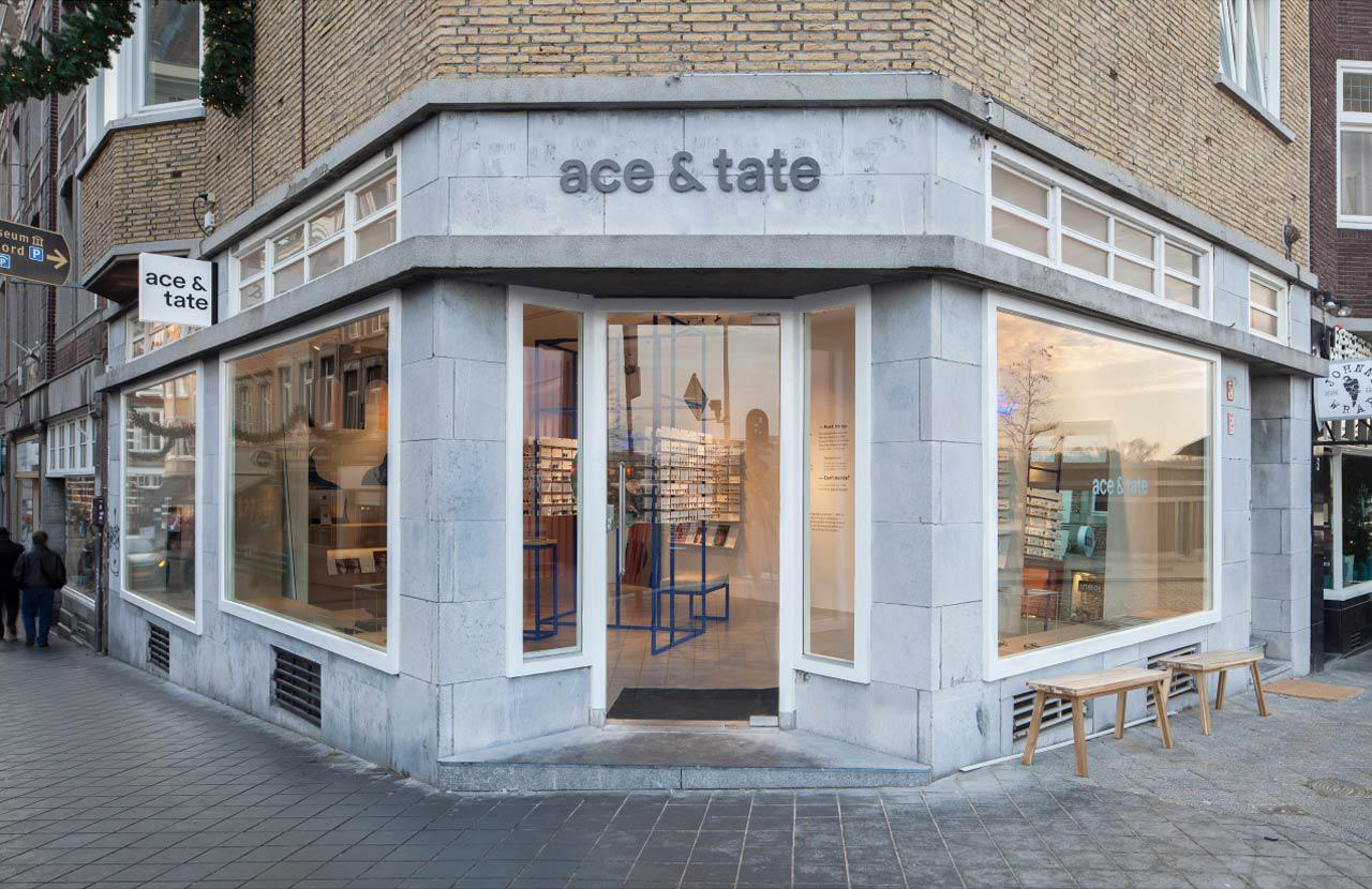 Ace & Tate Wycker Brugstraat store interior