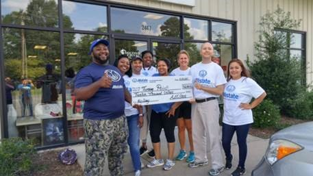 Donnell Davis - Allstate Foundation Helping Hands Grant for Turning Point, Inc.