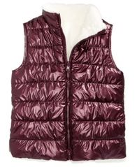 Image of Epic Threads Reversible Faux-Fur Puff Vest, Big Girls (7-16), Created for Macy's