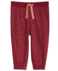 Image of First Impressions Marled Jogger Pants, Baby Boys, Created for Macy's