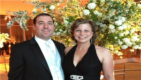 My wife and I at the Leukemia and Lymphoma Society Gala