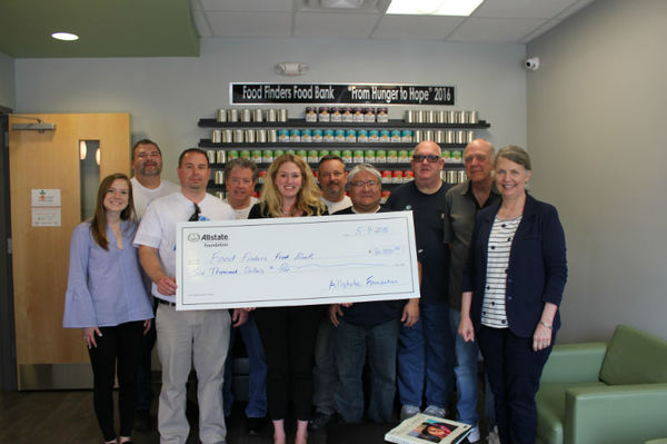 Scott Scales - Allstate Foundation Helping Hands Grant Helps Food Finders Food Bank