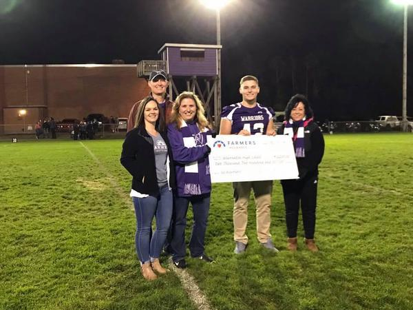 Warrenton HS Donation 2018