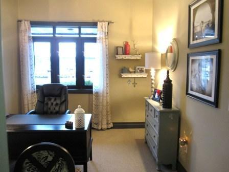 Jess Bowman's office. Stop by the Bowman Agency and say hello!