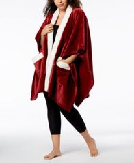 Image of Charter Club Cozy Plush Wrap Throw, Created for Macy's