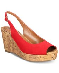 Image of Style & Co Sondire Platform Wedge Sandals, Created for Macy's