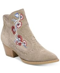 Image of Carlos by Carlos Santana Vivian Embroidered Western Booties